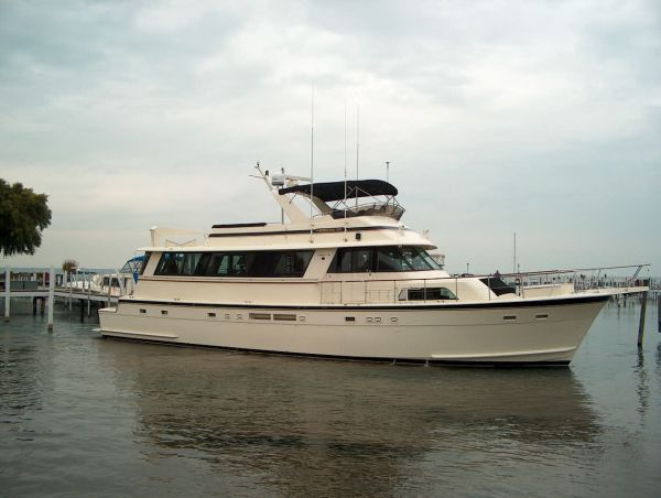 Hatteras yacht for sale