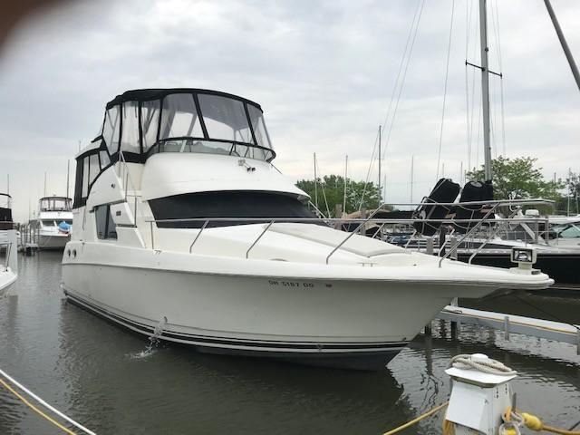 2001 silverton 392 sidewalk motor yacht