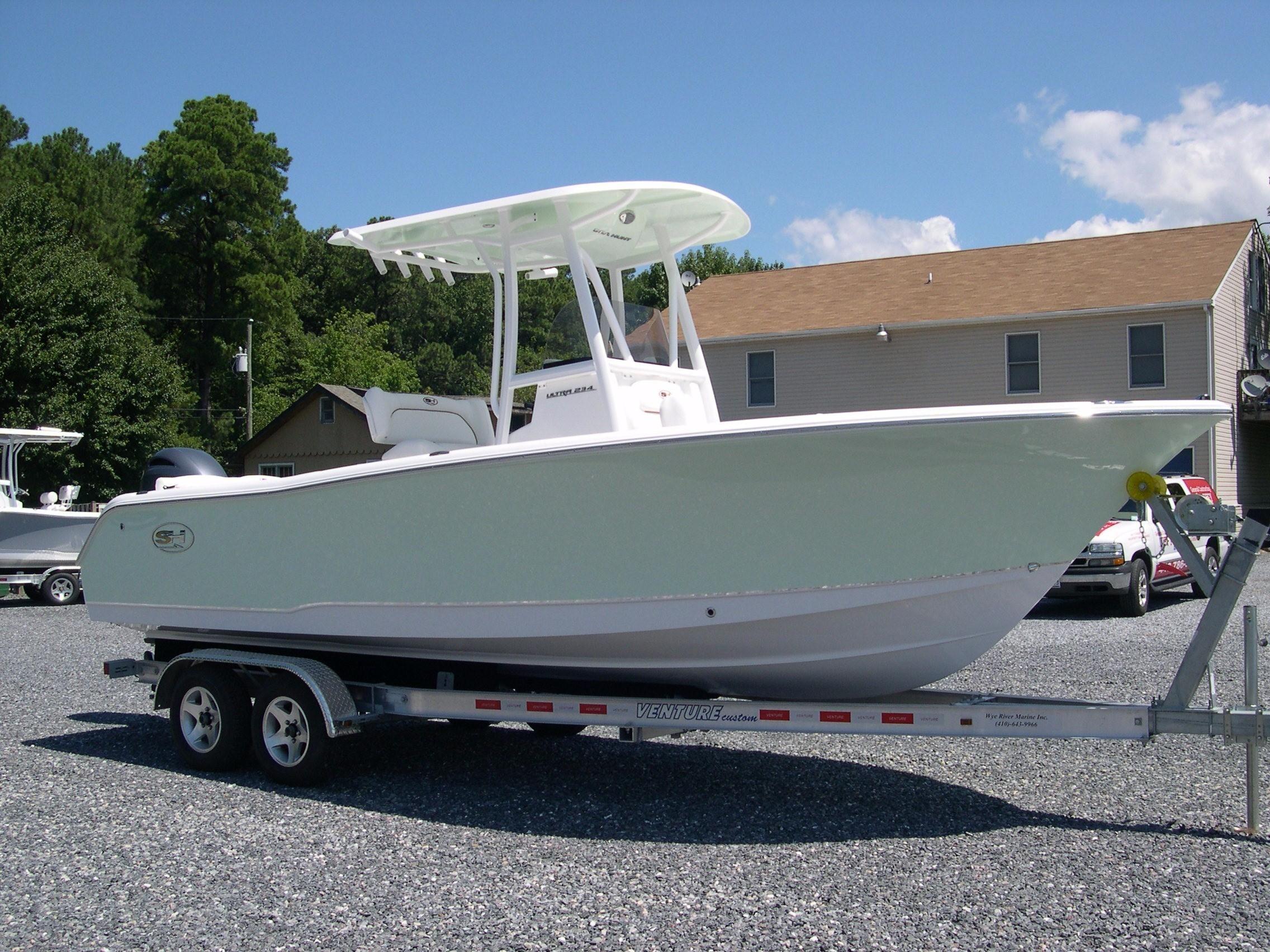 2018 sea hunt 234 ultra mezzanine seat power boat for sale for Mezzanine cost estimate