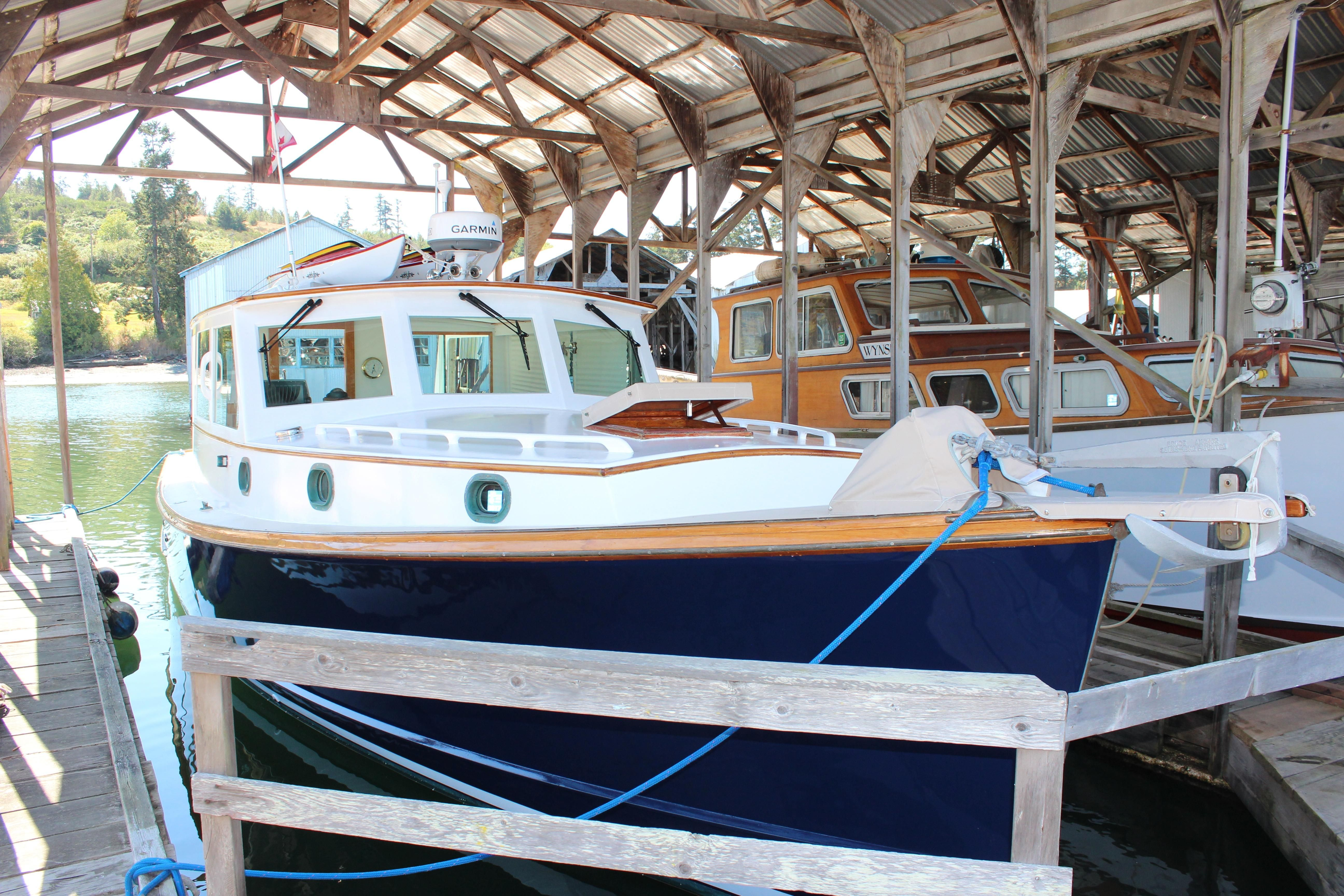Boats yachts maine boats lobster boats picnic boats sailing - 1977 Jarvis Newman Downeast Lobster Yacht