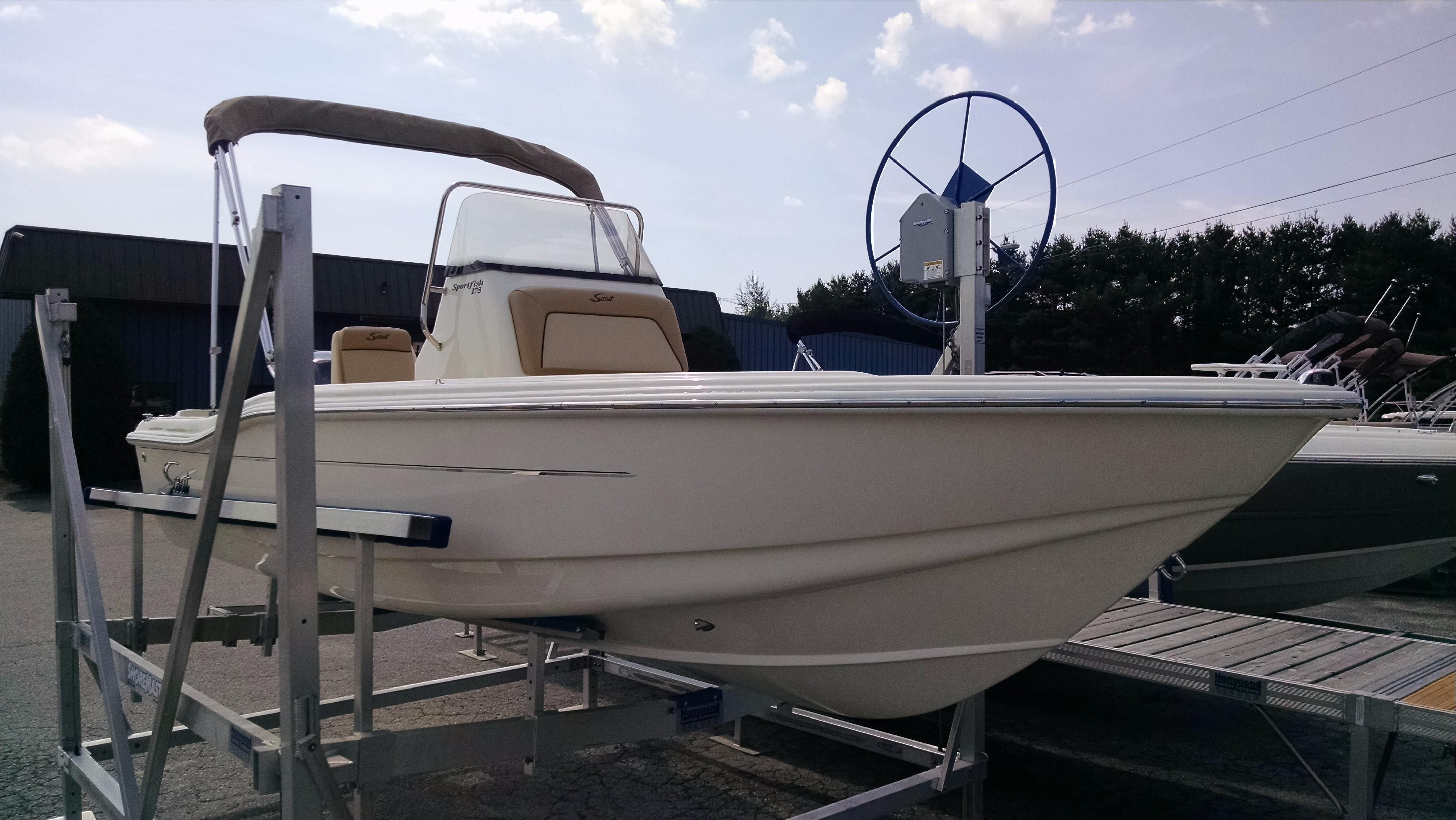 2017 scout 175 sportfish power boat for sale www for Fishing boat dealers near me