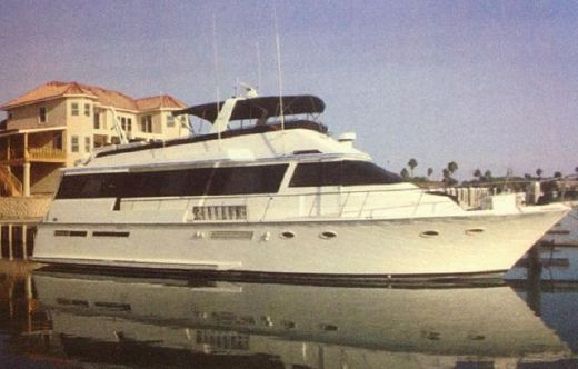 1990 Viking Custom Flybridge EAD