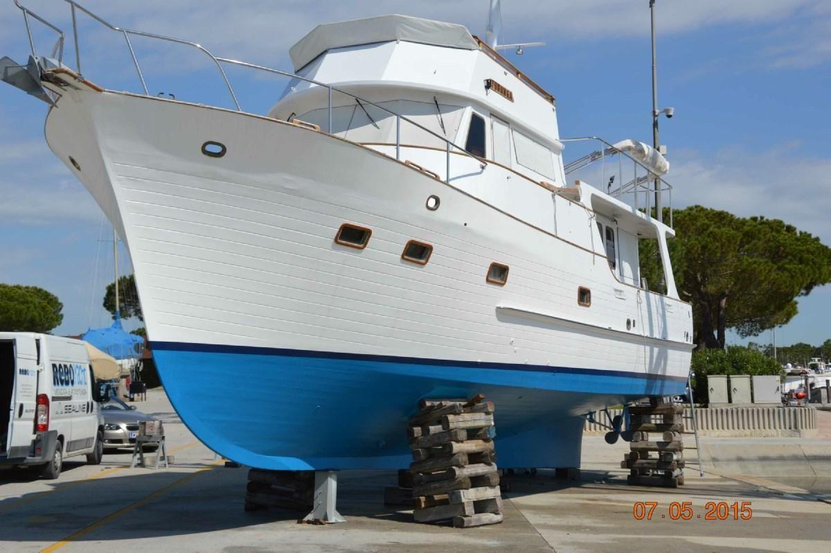 1974 american marine alaskan 49 pilothouse moteur bateau vendre. Black Bedroom Furniture Sets. Home Design Ideas