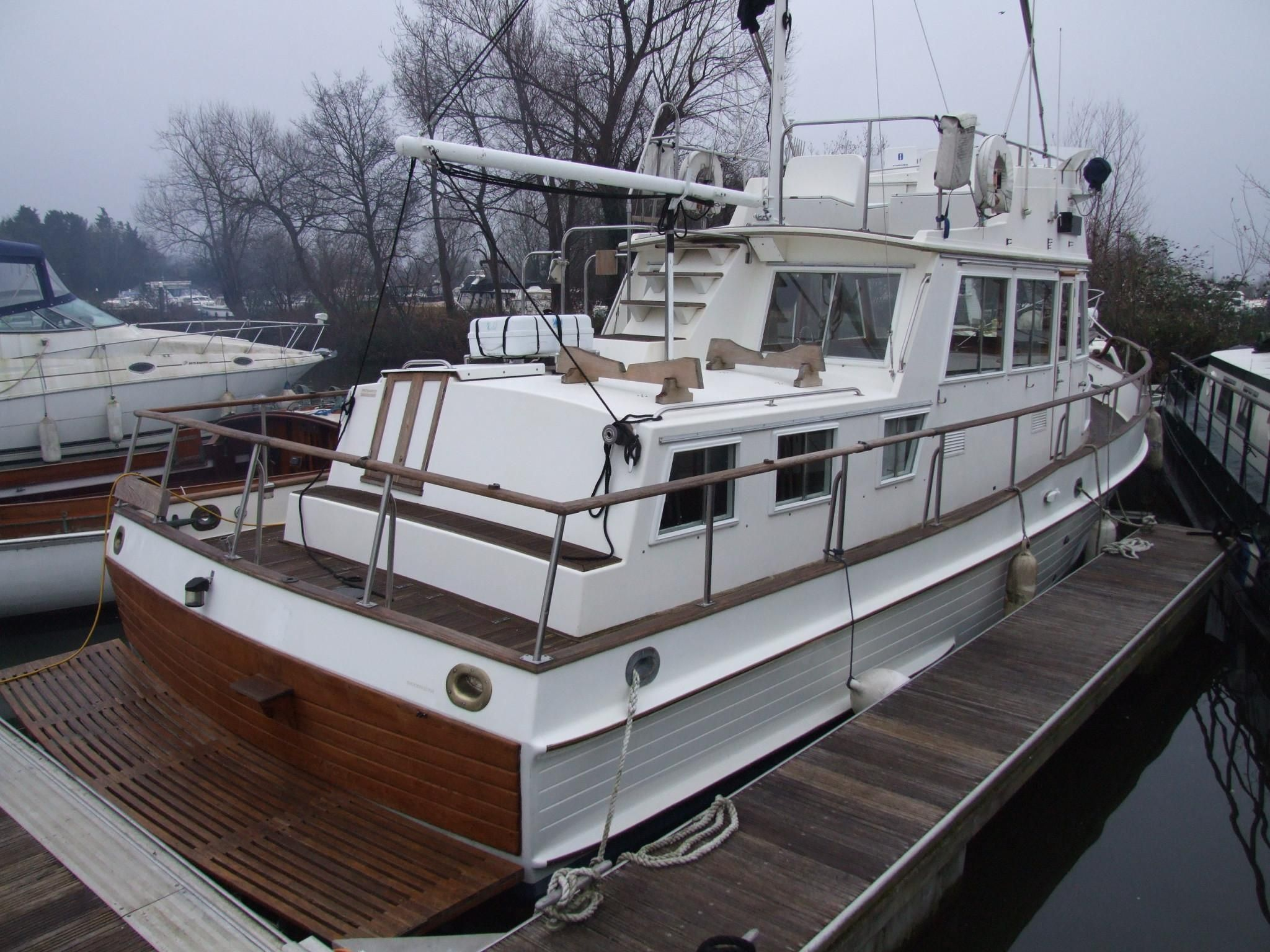 1988 grand banks 36 classic power boat for sale www for Grand banks motor yachts for sale