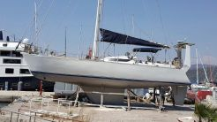 1990 Custom-Craft Friderich Mund 45 Deck Saloon  Aluminum