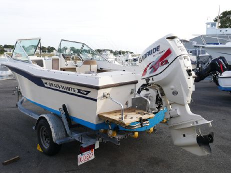 1982 Grady White Dc With 2013 E-Tec 135 & trailer