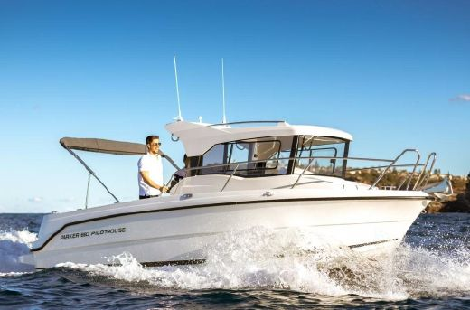 2017 Parker 660 Pilothouse