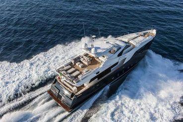 thumbnail photo 0: 2013 Ferretti Yachts Custom Line 100