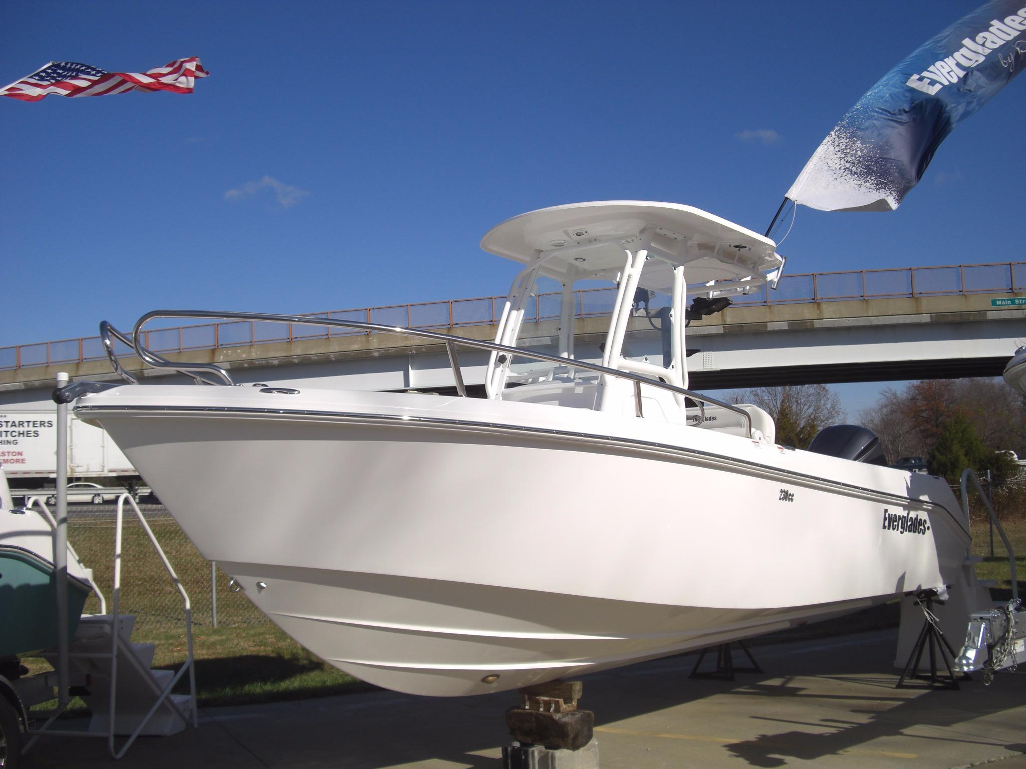 2017 Everglades 230 Center Console Power New And Used
