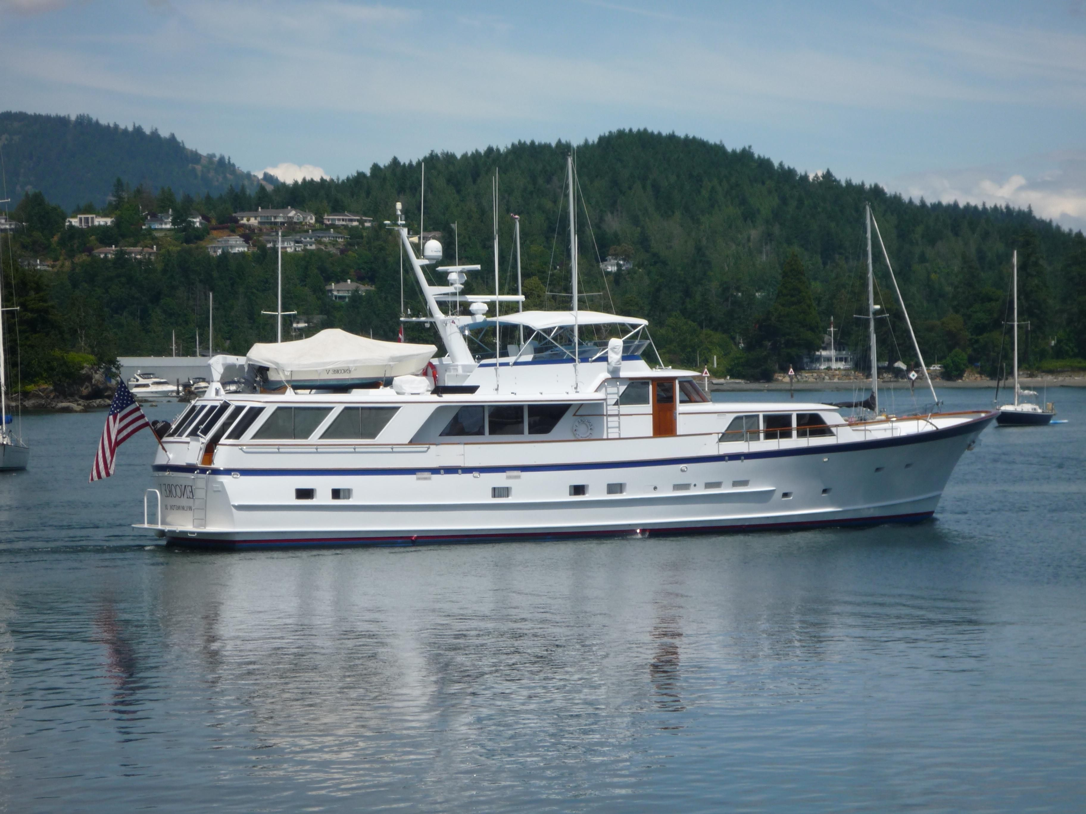 1986 Burger Motor Yacht Power Boat For Sale Www