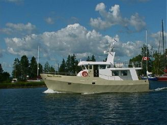 2001 Trawler Custom Smart Trawler