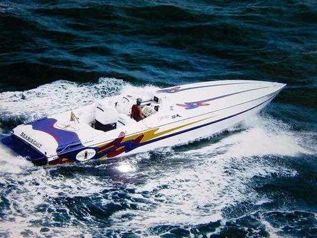 1993 Cigarette Racing 35 Cafe Racer
