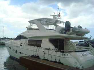 2006 Viking Yacht 75' SPORTS CRUISER