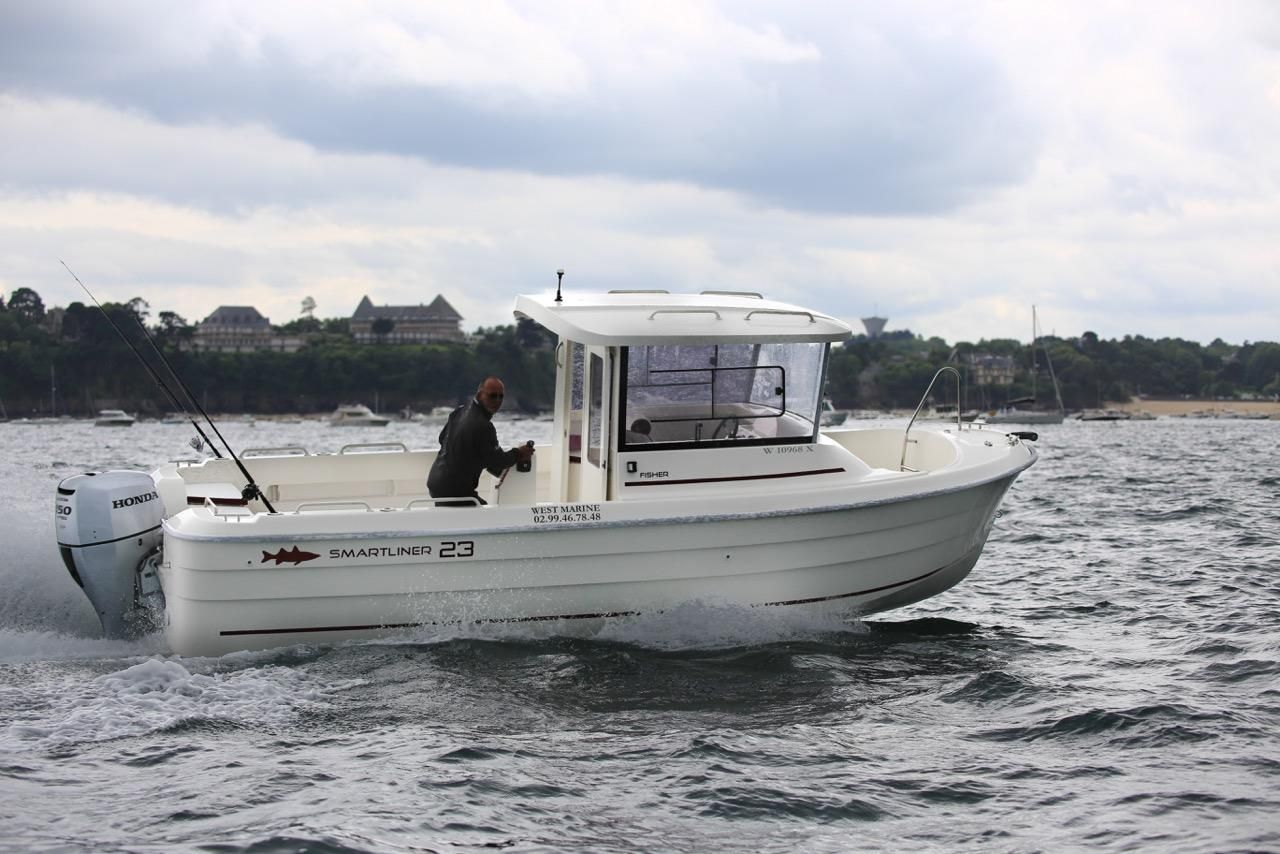 2017 smartliner fisher 23 power boat for sale www for Fishing boats for sale