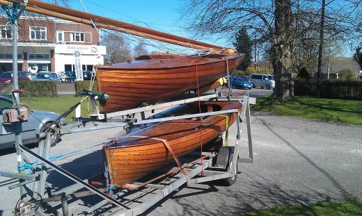 1946 Merlin Rocket Sailing dinghy
