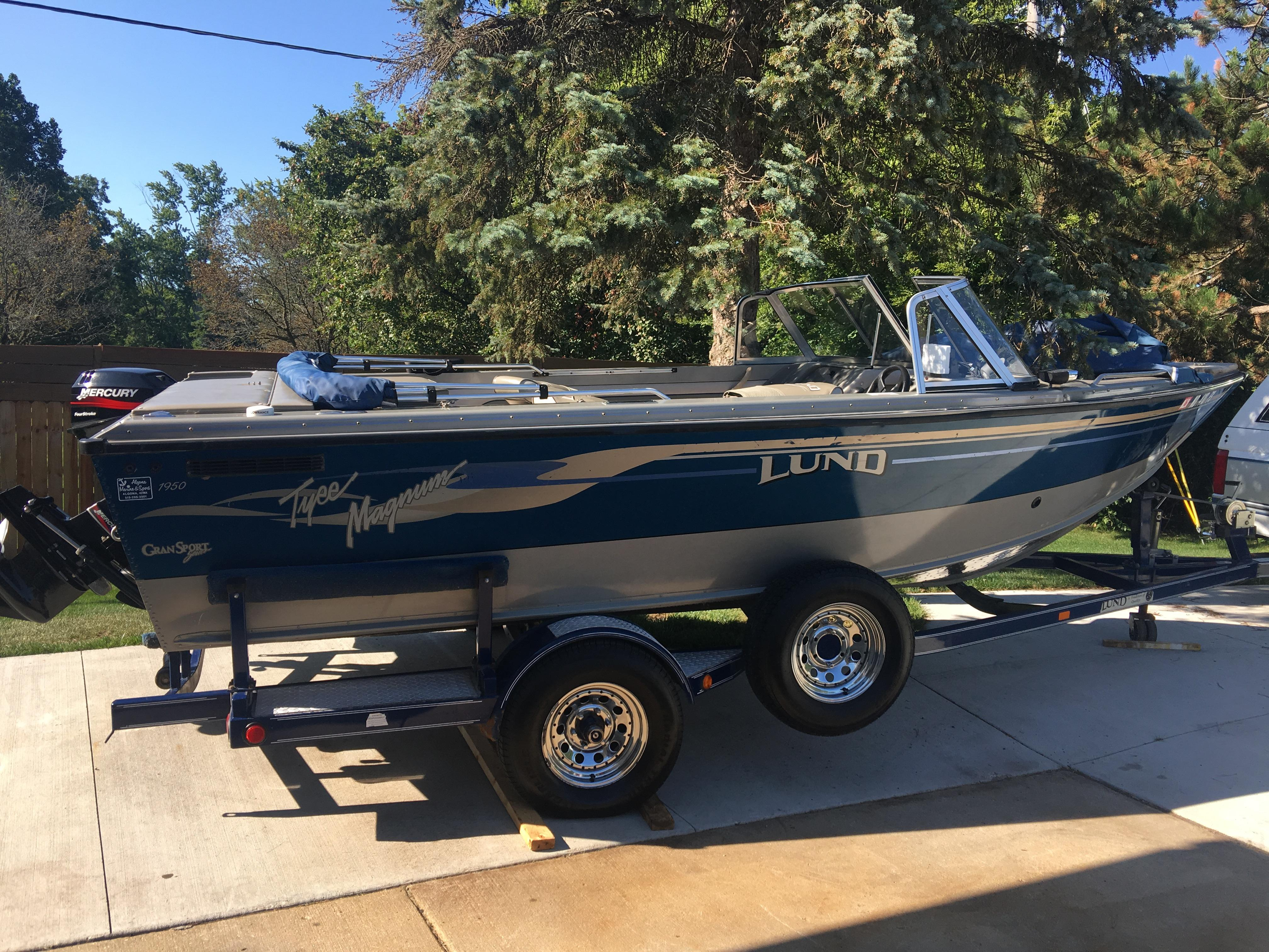 Boats For Sale In Michigan >> 2002 Lund 1950 Tyee Magnum Gran Sport Power Boat For Sale
