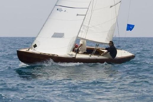 1955 Cantieri Baglietto International 5.5 Racing Sloop