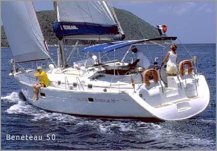2002 Sunsail Beneteau 50