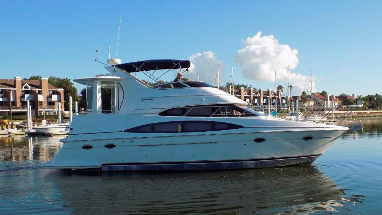 2000 Carver 396 Motor Yacht Power Boat For Sale Www