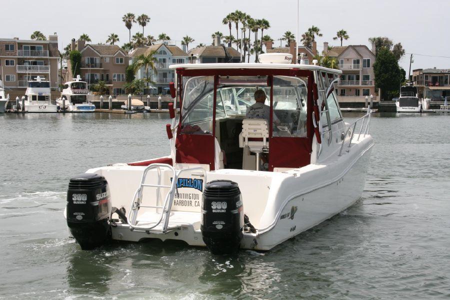 2007 World Cat fishing catamaran for sale