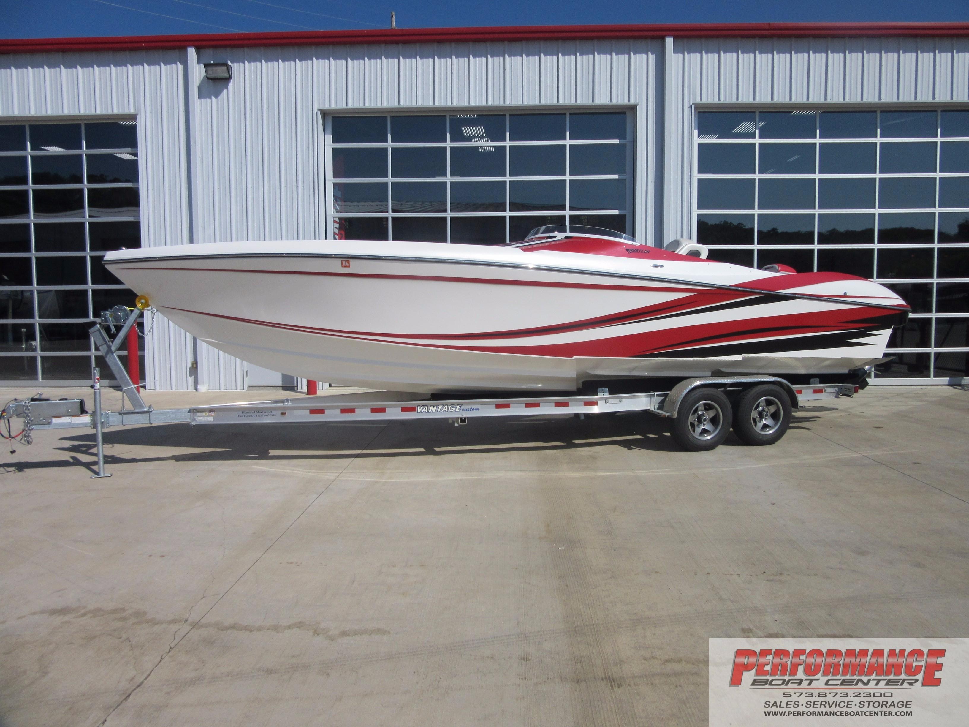 Hustler 377 powerboat for sale sorry