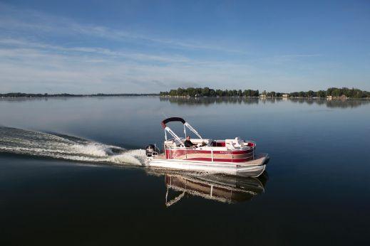 2014 Harris Flotebote 220 Cruiser CS with 150 HP