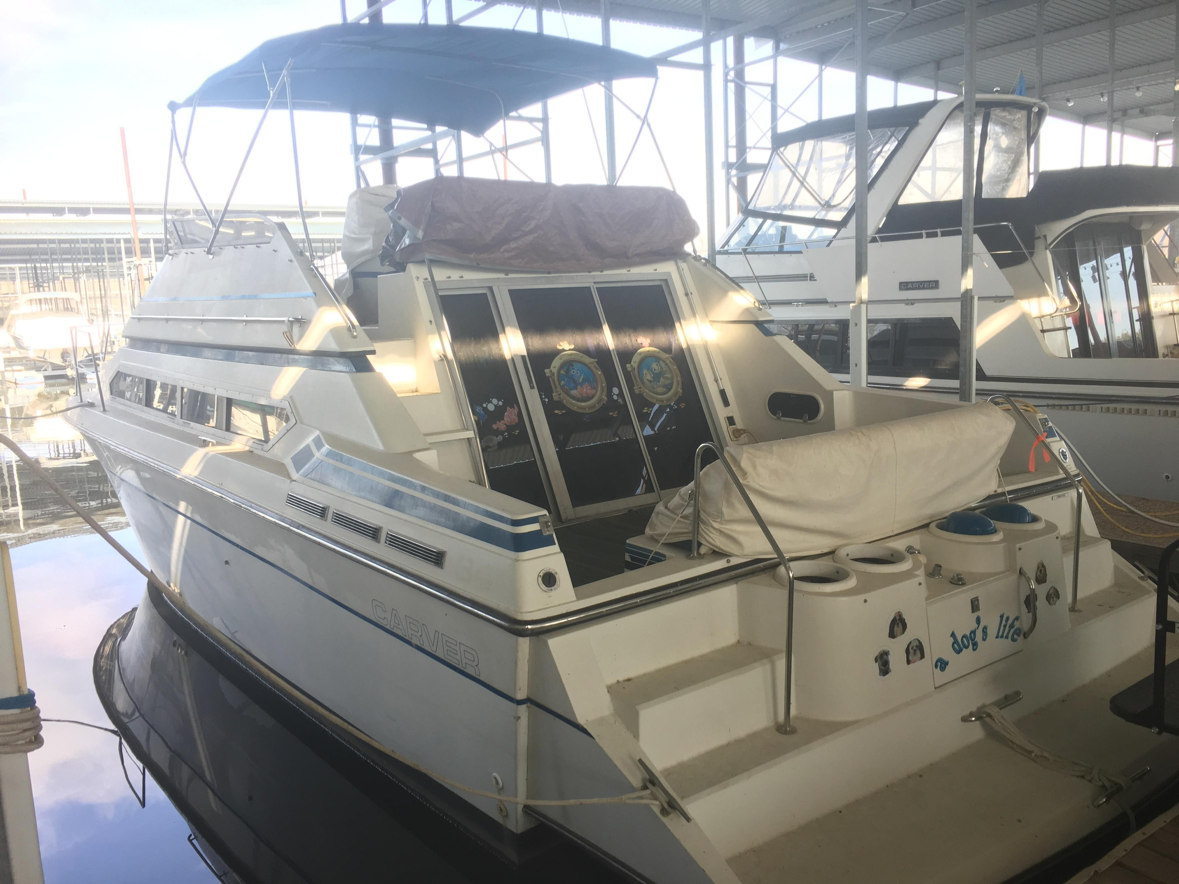 1989 carver 38 santego power new and used boats for sale for The motor company marinette