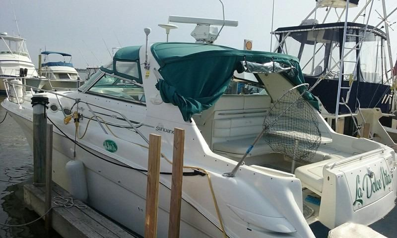 1997 sea ray carver silverton 370 sundancer power new and for Moriches boat and motor