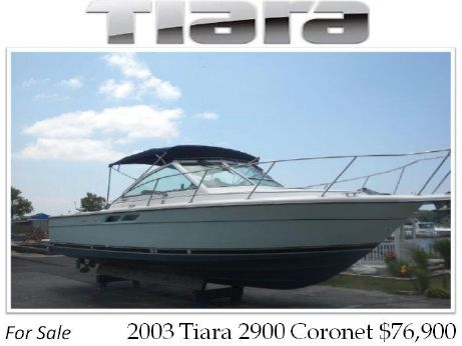 2003 Tiara 2900 Coronet