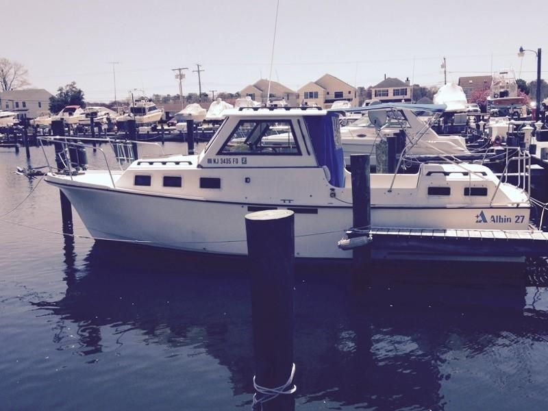 Nissan Dealers In Nj >> 1986 Albin 27 Family Cruiser W 2-3 GPH Power Boat For Sale