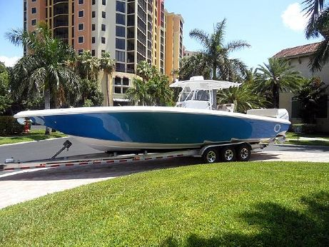 2018 Fountain 38 CC Bluewater