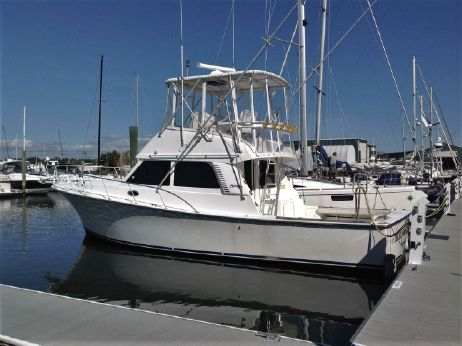 2001 Henriques 38 Fly Bridge