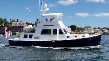 """1993 Duffy Aft Cabin """"Downeast"""" Cruiser with aft cockpit"""