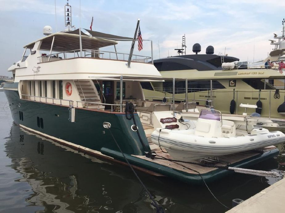 2013 custom steel trawler 30m
