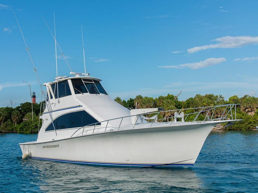 2000 Ocean Yachts Super Sport Enclosed Bridge Power Boat ...