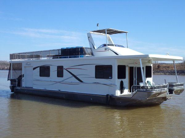 55 ft 2010 thoroughbred houseboat