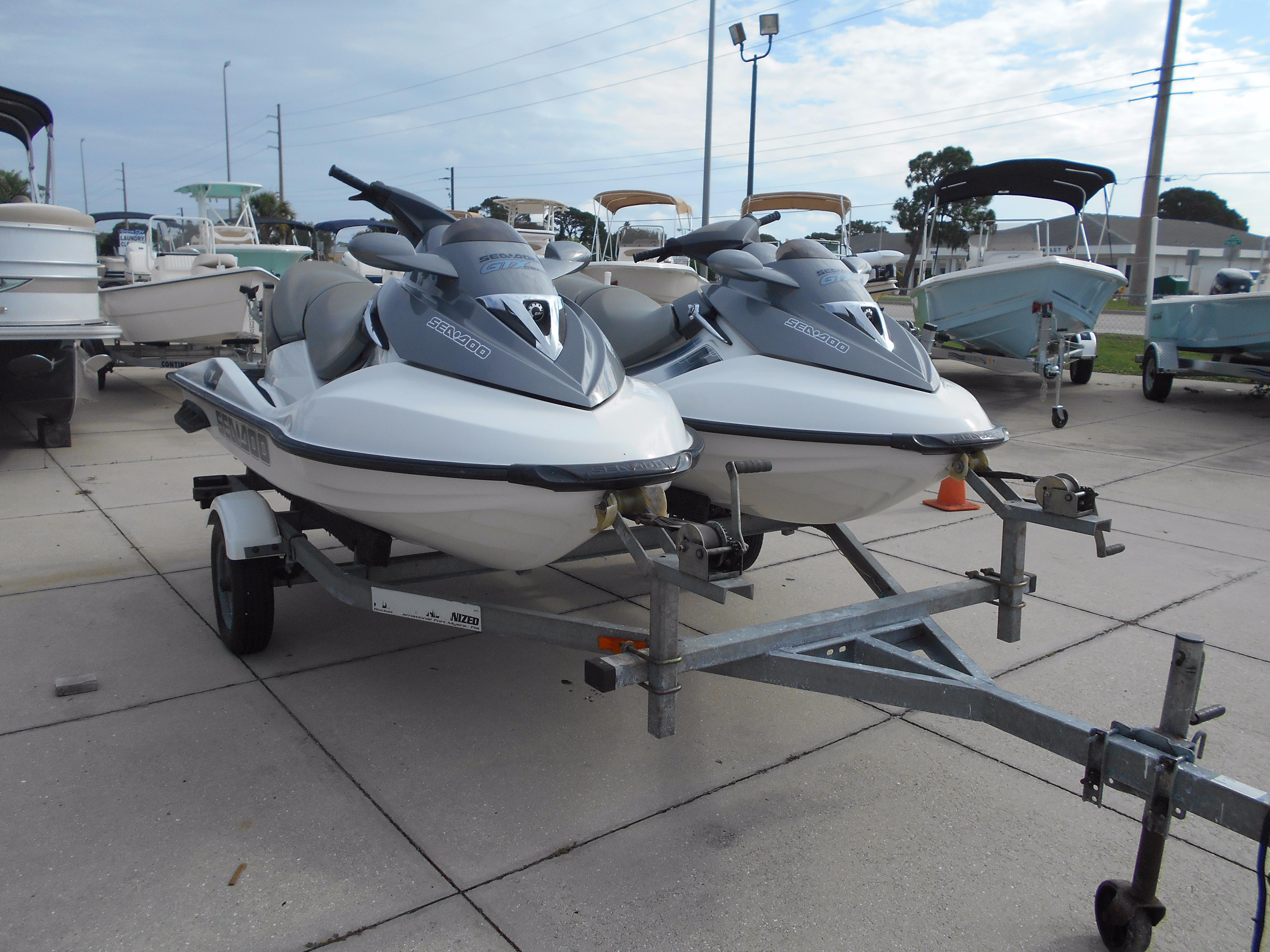 2006 Sea-doo Gtx 4-tec Power Boat For Sale