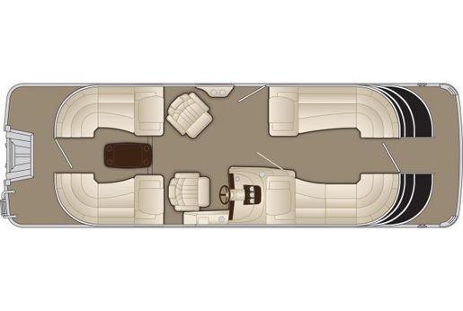 2016 Bennington 2550 QSR
