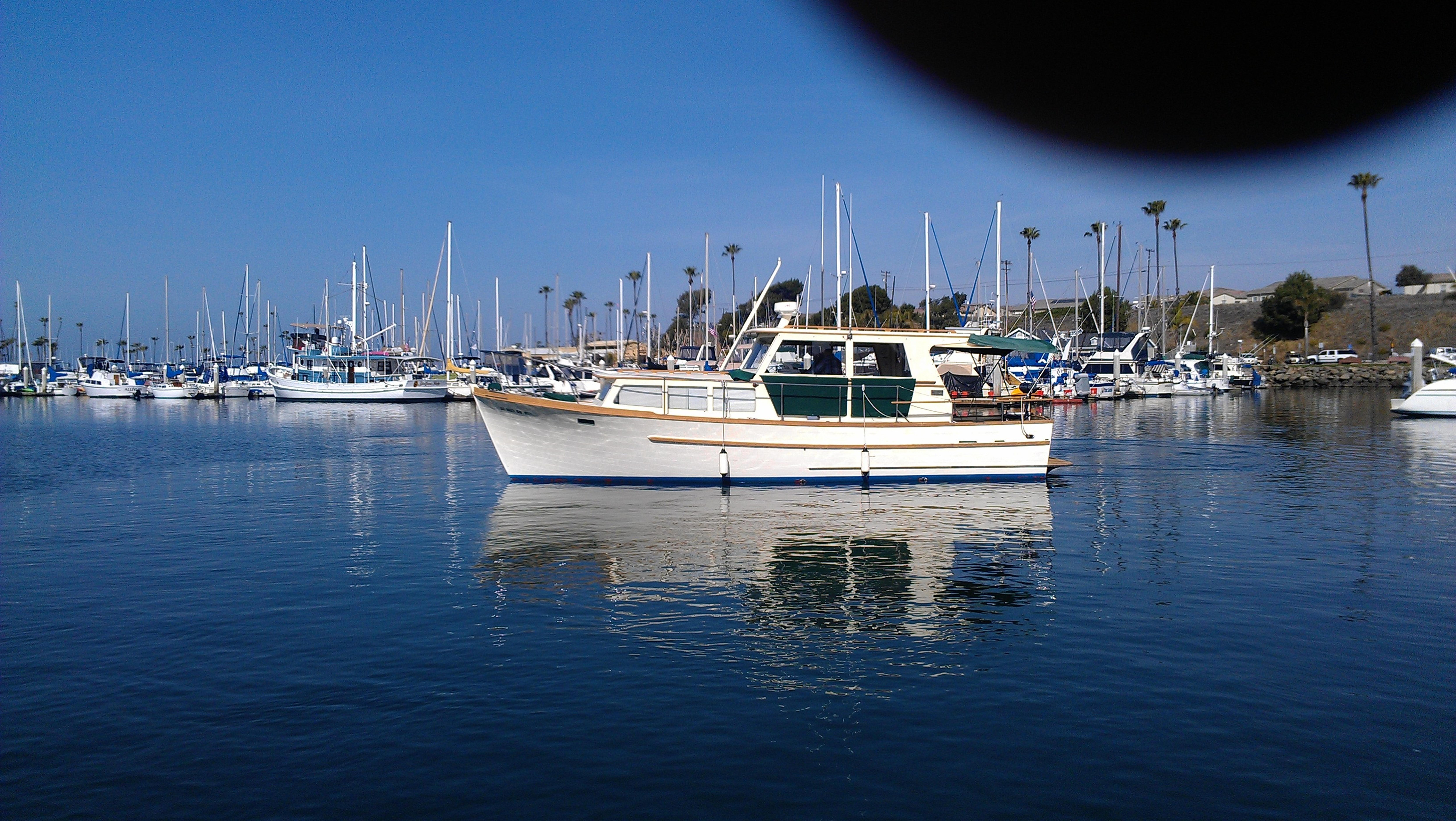 36 ft 1978 roughwater trawler w/oceanside slip