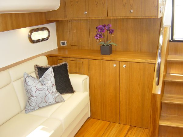 Photo of Tiara 4500 Sovran Stbd. Aft Bulkhead Cabinetry