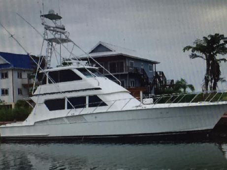 1992 Hatteras Enclosed Fly Bridge