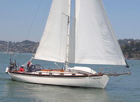 1987 Cape George sloop