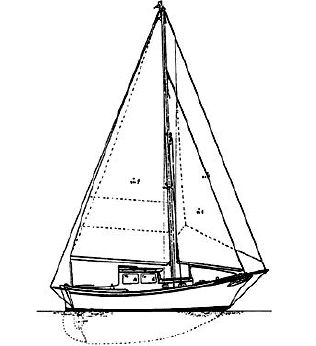 2016 Eastsail All Weather 25, Cutter
