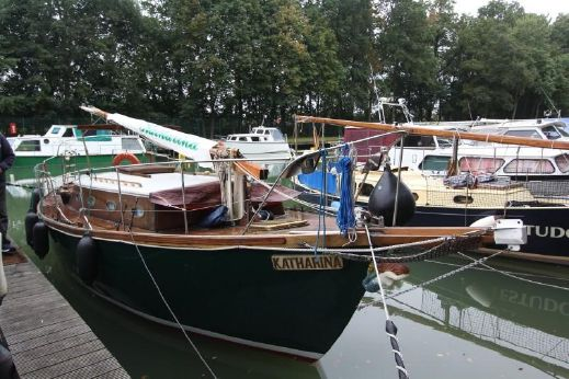 1995 Eigenbau Segelboot Mahagoni