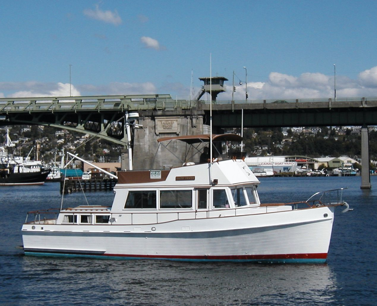 42 ft 1970 grand banks trawler