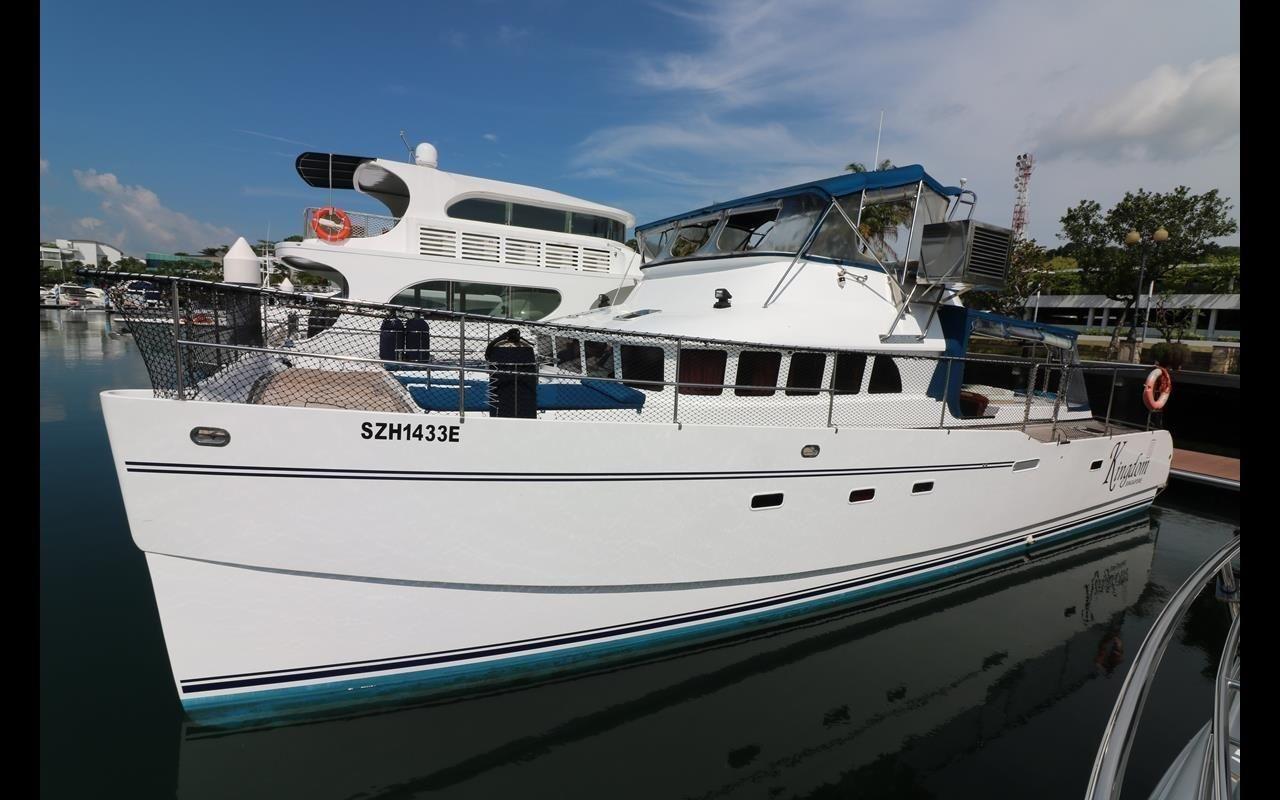 2009 RB50 Power Catamaran Power Boat For Sale - www ...  2009 RB50 Power...