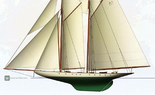 2012 Herreshoff Two Masted Topsail Gaff Schooner Project