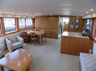 thumbnail photo 1: 1988 Hatteras 70 Cockpit Motor Yacht