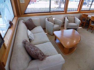 thumbnail photo 2: 1988 Hatteras 70 Cockpit Motor Yacht