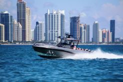 2015 Deep Impact 39' Four Engines Mercury Mercury Verado 300 Hp